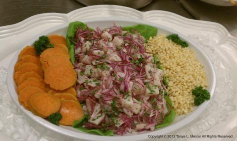Ceviche Platter
