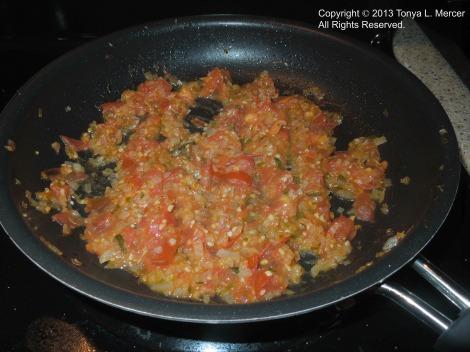 Mahi Chard - Tomato Basil Sauce 2